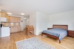 Oversize alcove studio apartment in one of the most desirable building in Fort Green